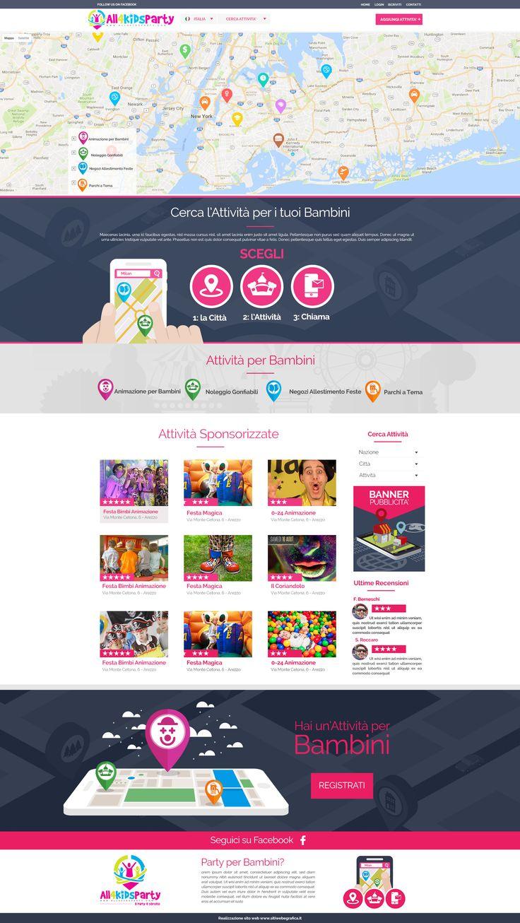 http://www.all4kidsparty.com - All 4 Kids Party è il sito web adatto a tutte le mamme che vogliono organizzare un'indimenticabile festa di compleanno o evento per il proprio bambino! All4KidsParty ti permette di scegliere nella tua città l'agenzia di animazione per bambini che fa per te oppure la location giusta, artisti di strada e tanto altro. Fai la tua Ricerca!
