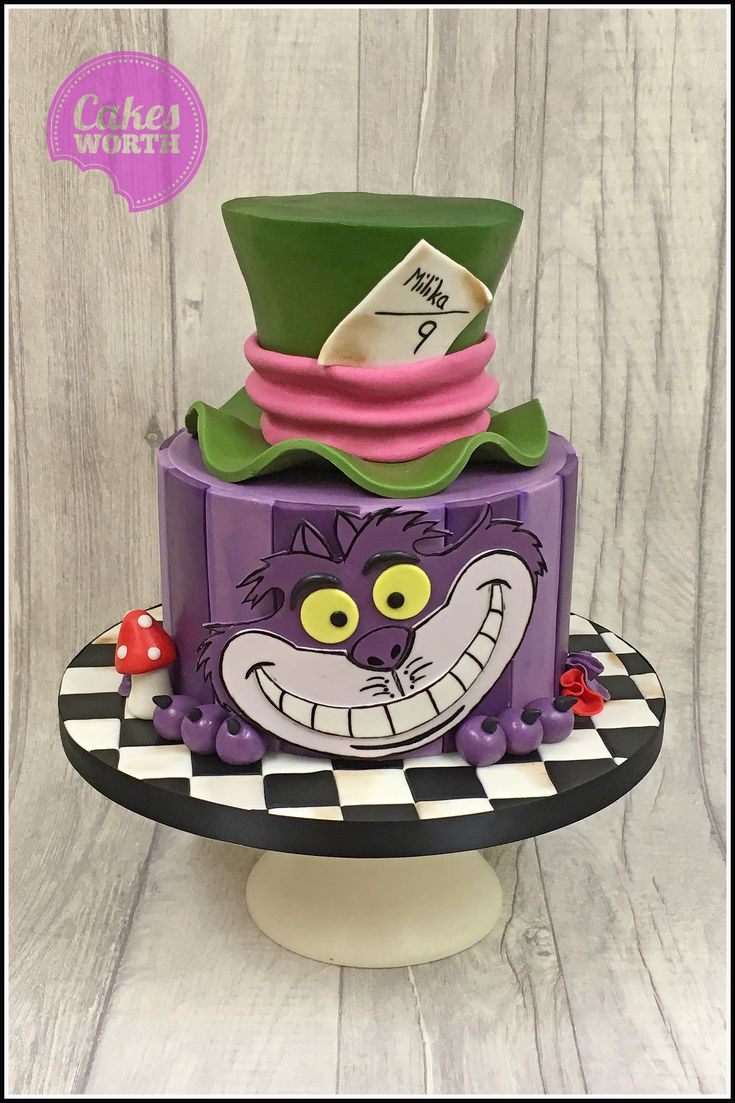 Best 25 Mad Hatter Cake Ideas On Pinterest Mad Hatters