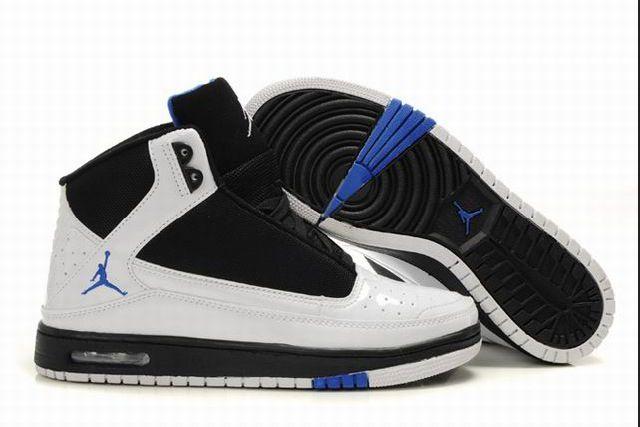 Wit/zwart/blauw