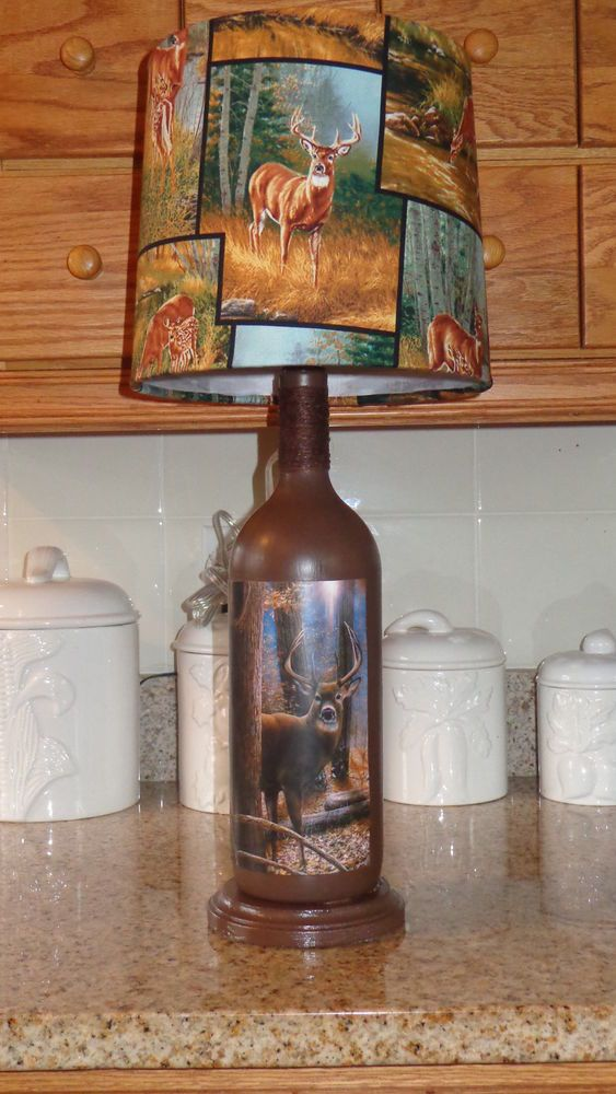 125 Best Images About Liquor Bottle Lamps On Pinterest