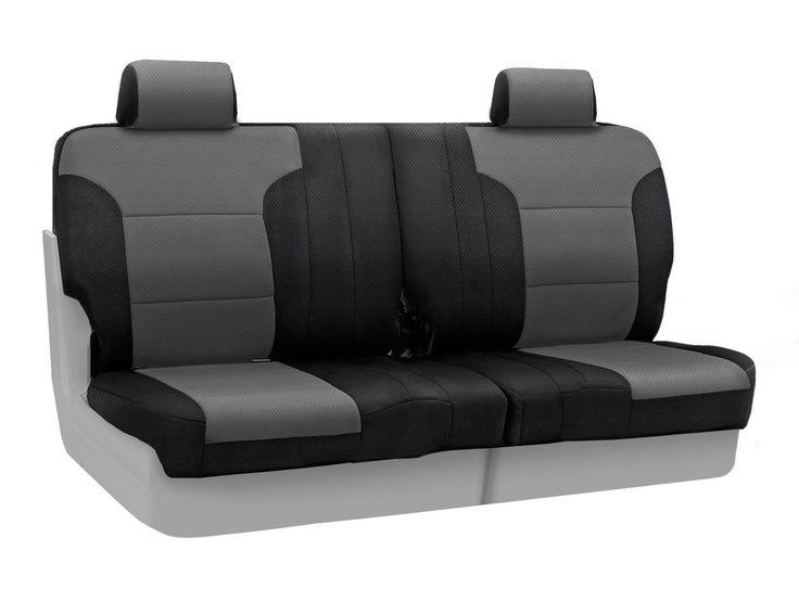 Coverking Custom Fit Rear 50 50 Split Bench Seat