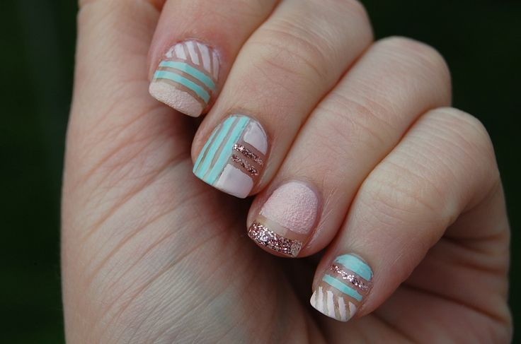 Birthday nails ///