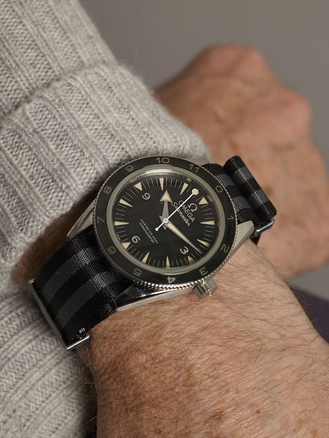 The Omega Seamaster 300 Spectre Limited Edition watch Grey Fox