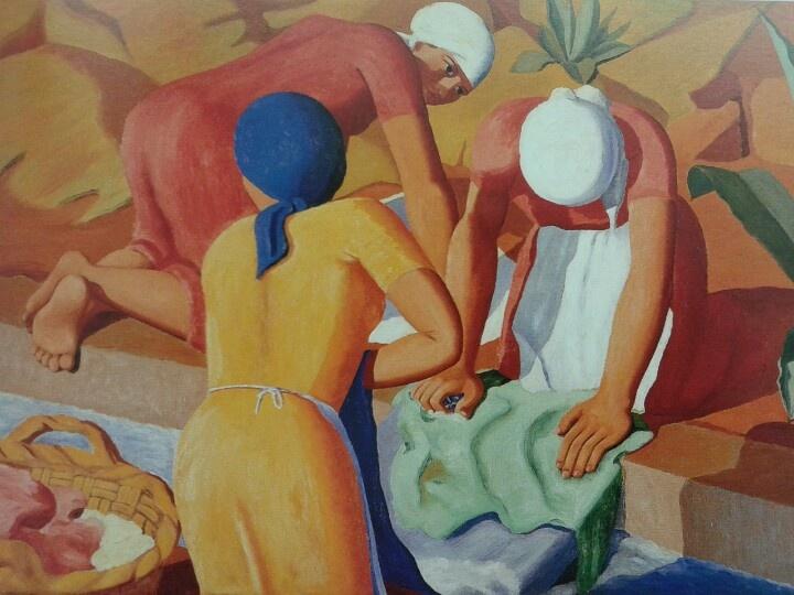 Jorge oramas - lavanderas, c.1932-35