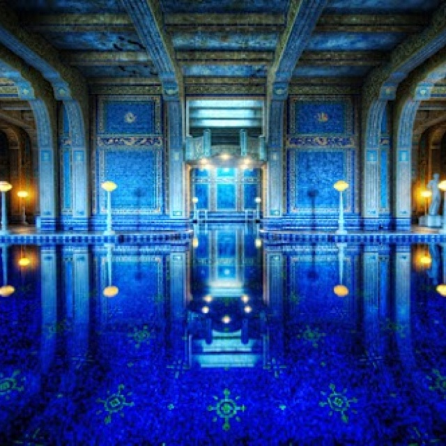 Inside Swimming Pool At Hearst Castle San Simeon Ca Always Wanted To See Hearst Castle When I
