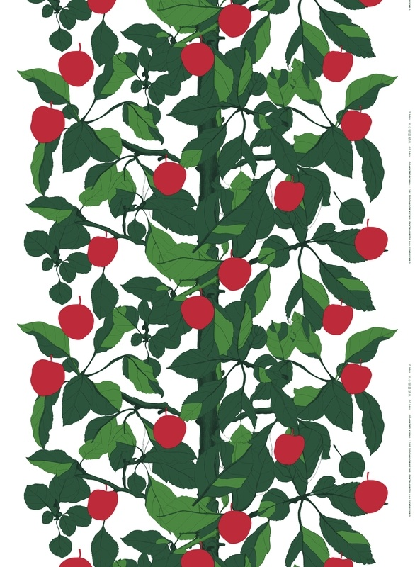 Onnen omenapuu, Teresa Moorhouse: Onnen omenapuu (the apple tree of happiness) is a tribute to all the apple trees that play an essential role in childhood summer memories.