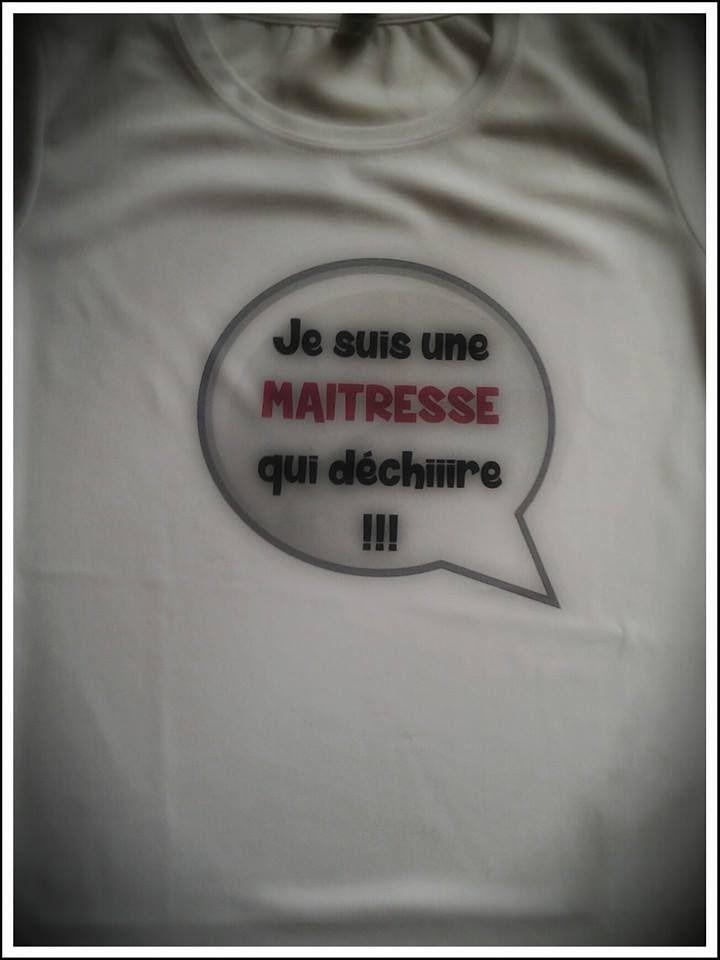 Je suis ... qui déchire ! Tee-shirt à personnaliser en polyester : T-Shirt, debardeurs par sublitoo