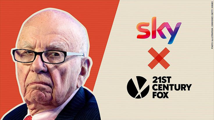 Rupert Murdoch won't be able to buy Sky until at least 2018