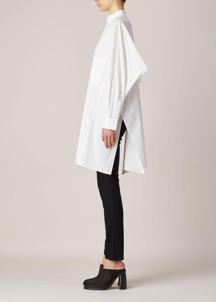 Totokaelo - Y's by Yohji Yamamoto White Boxy Shirting