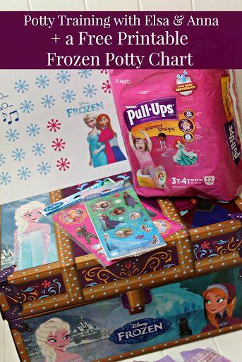 Free Printable Disney Frozen Potty