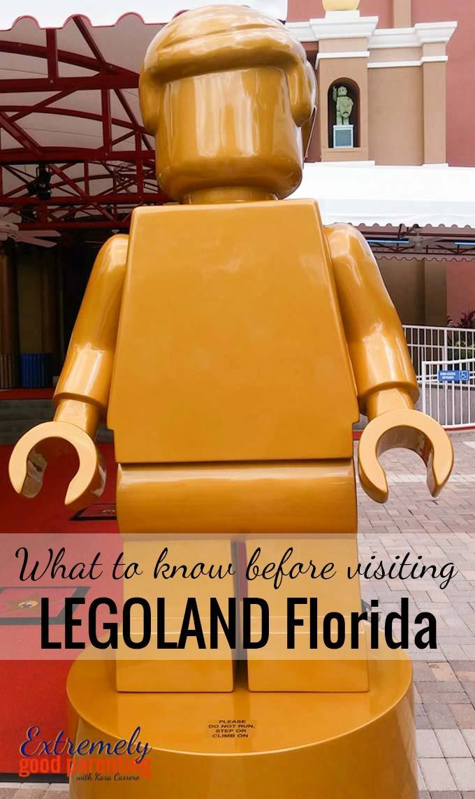 What to know before visiting LEGOLAND Florida theme park with young kids.