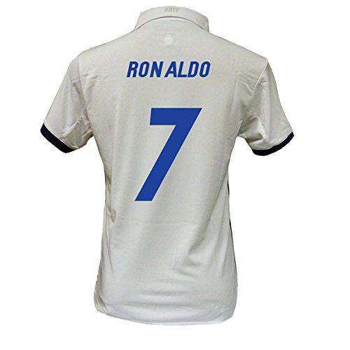 CAMISETA 1ª EQUIPACION REPLICA OFICIAL REAL MADRID 2016-2017 RONALDO ADULTO (L) #camiseta #starwars #marvel #gift