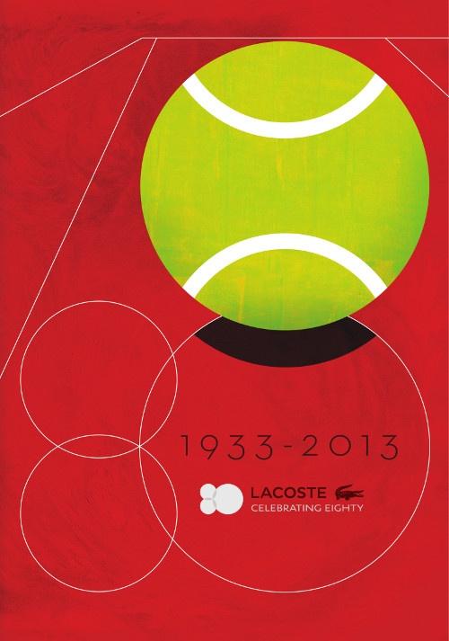 1933-2013 Lacoste festeggia il suo 80° compleanno!