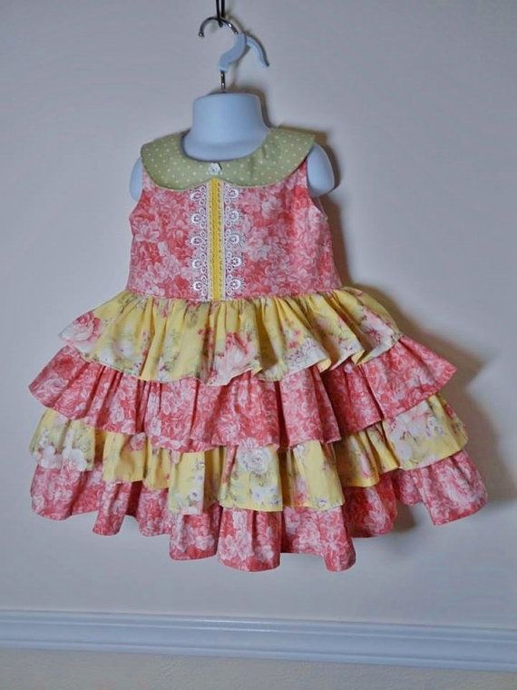 This dress reminds me of everything thats good about summertime...homemade ice…