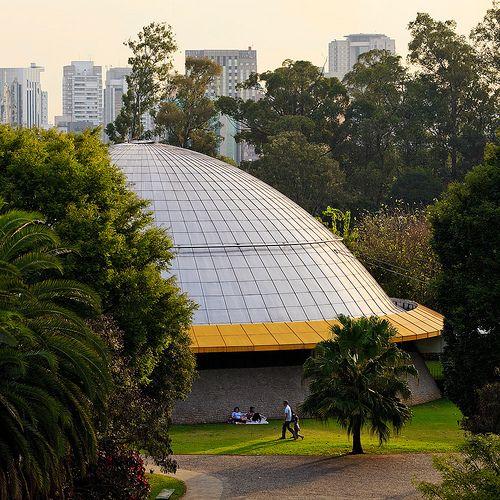 Planetário do Ibirapuera, São Paulo, Brasil