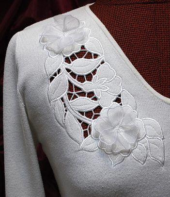 Wild Rose Cutwork Lace