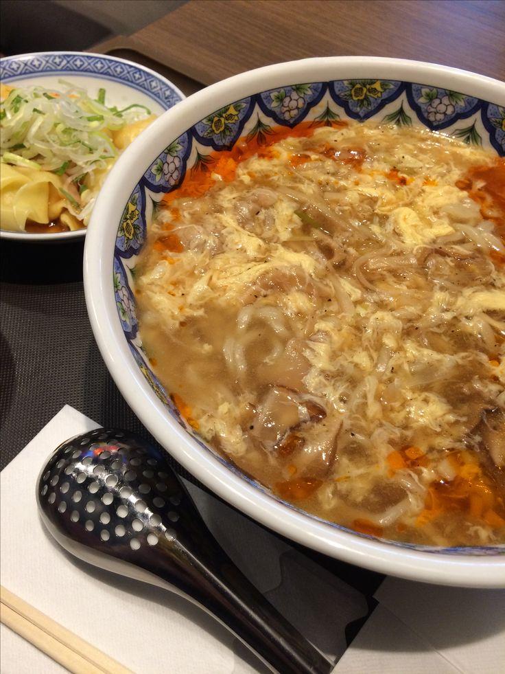 2016.11.06 揚州商人のサンラータン麺