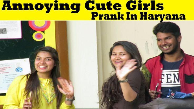 Annoying Cute Girls Prank In Haryana (Part 2) | Indian Pranks 2017 | By DFC