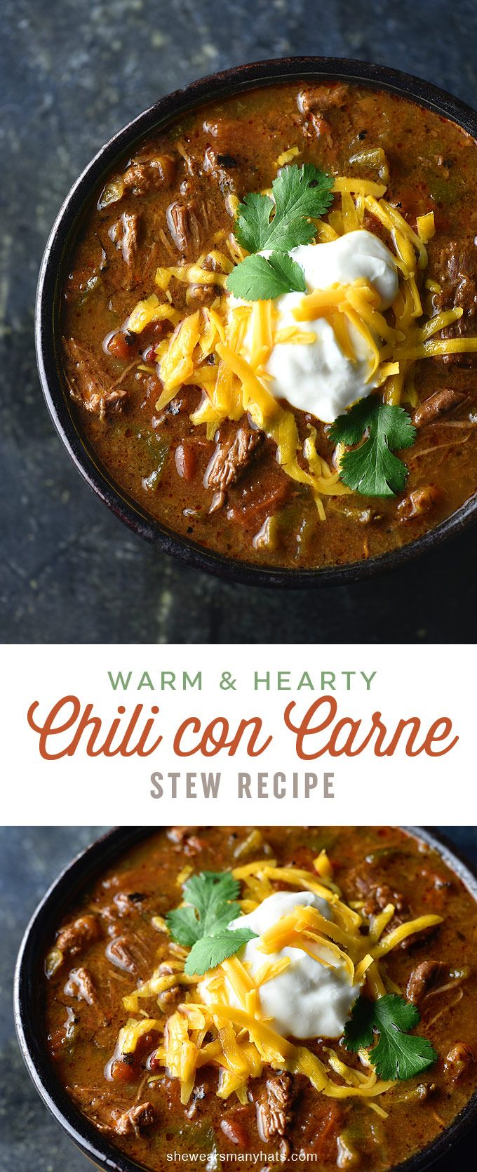 Chili Con Carne Recipe | shewearsmanyhats.com http://shewearsmanyhats.com/chili-con-carne-recipe/