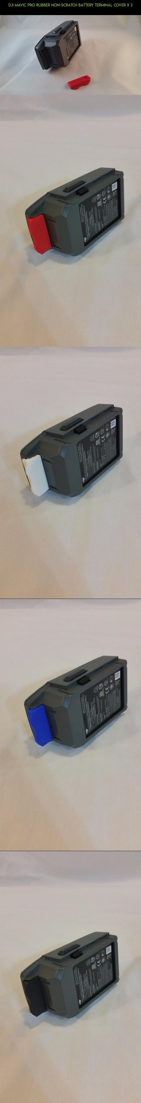 DJI Mavic Pro Rubber non-scratch Battery Terminal Cover x 3 #products #shopping #racing #pro #batteries #fpv #kit #drone #parts #camera #tech #gadgets #plans #3 #technology #mavic