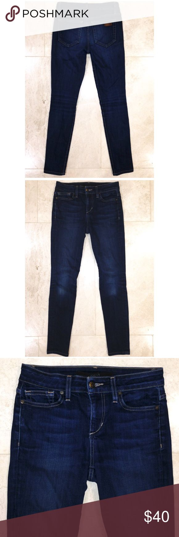 """▪️Joe's Jeans▪️ Joe's """"Skinny Ankle"""" Jeans in size 25 with a 28"""" inseam come in LIKE NEW condition. Dark wash, high rise and a skinny ankle fit. Bought these not realizing they are an 8"""" high rise. Perfect condition and waiting for YOU!!! My prices fluctuate often for sales and specials, so catch your favorite items when prices are low. Thank you in advance for shopping my closet!❤️ Joe's Jeans Jeans Skinny"""