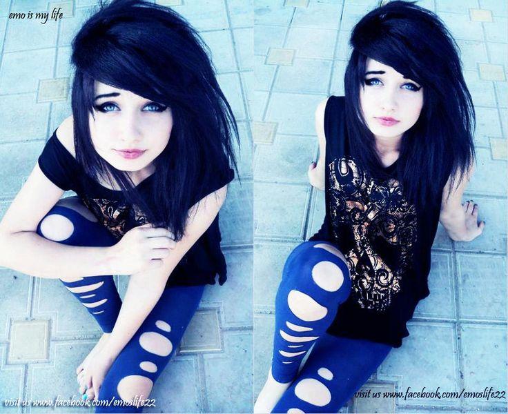cute scene girl <3