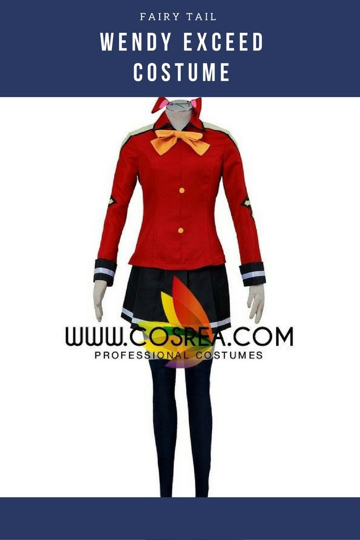 Fairy Tail Wendy Exceed Cosplay Costume