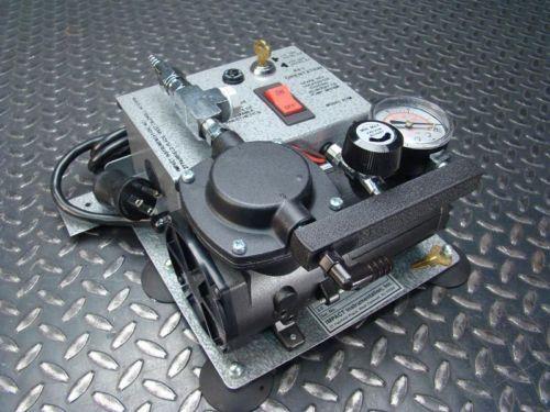 12V-DC-Thomas-Vacuum-Pump-Compressor-107-Diaphragm-with-115-230-VAC-Converter