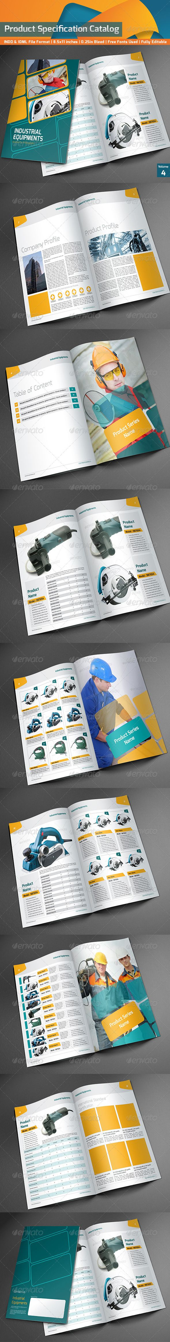 Product Specification Catalog V4
