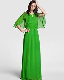 Vestido de mujer Tintoretto en color verde con strass