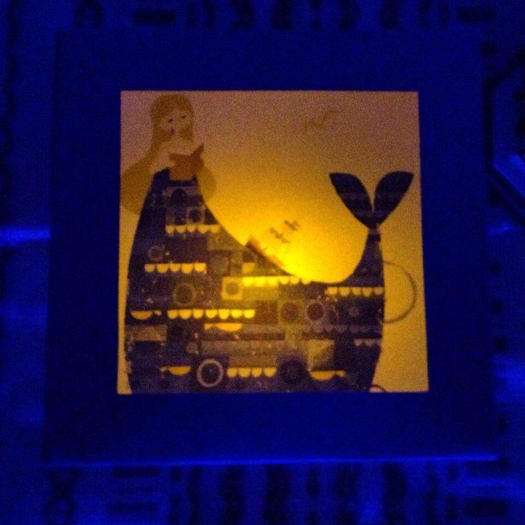 """фонарик Oolamp """"Море внутри""""  #paper #lantern #handcraft #handmade #gift"""