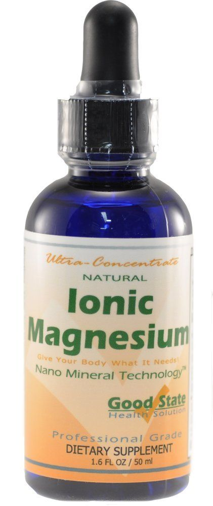 Amazon.com: Good State Liquid Ionic Magnesium Ultra Concentrate - 10 drops per 50mg - 100 servings: Health & Personal Care