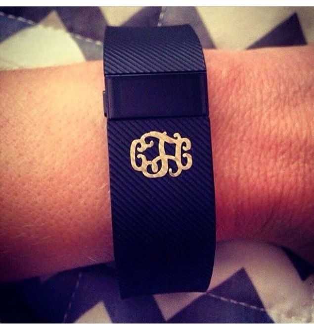 Vinyl Decals for your #fitbit #monogrammed