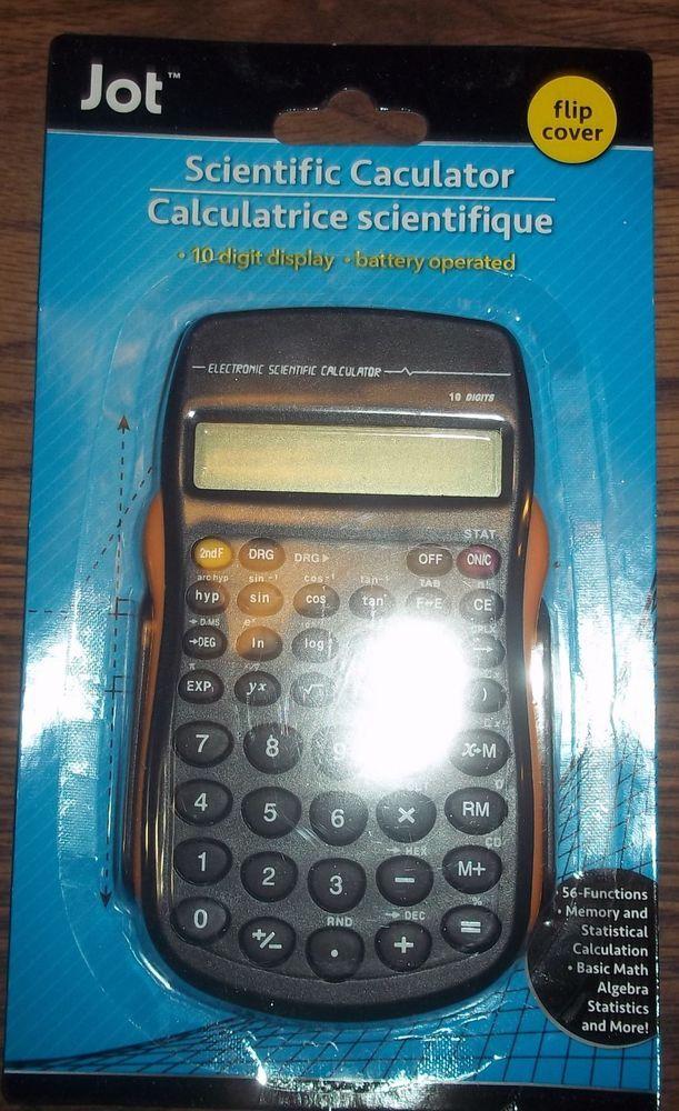 JOT Scientific Calculators With Flip Cover - Sine Cosine Roots Percentage Ratio #JOT