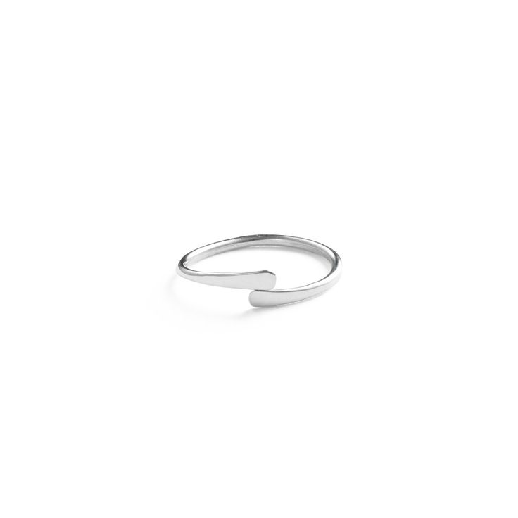 Unclosed Ring - Sterling Silver / Free Series
