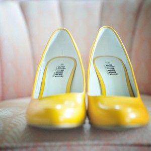 gelbe Schuhe :)