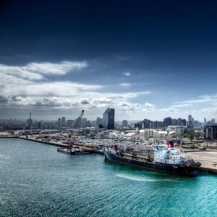 Durban Harbour ...