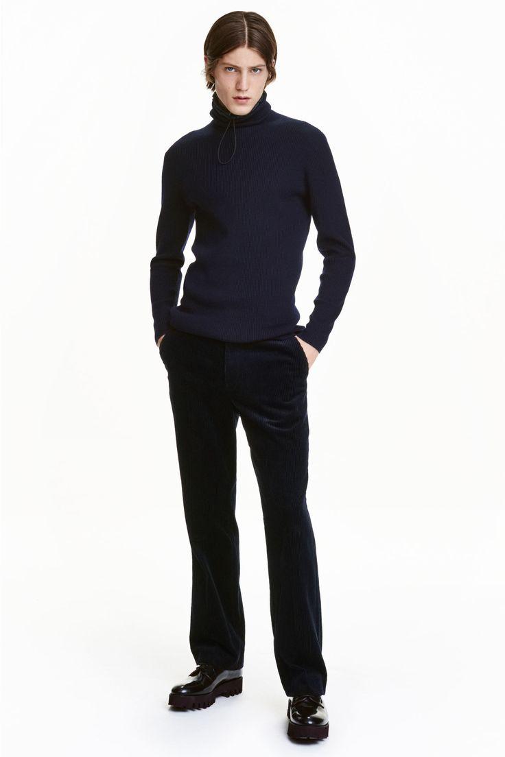 Pantalon en velours côtelé | H&M