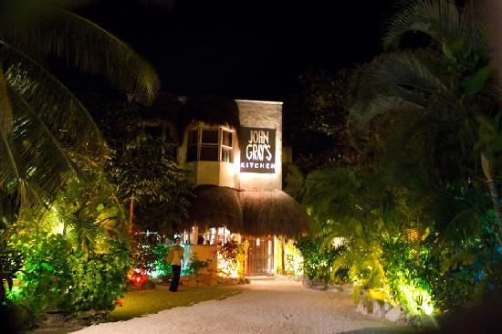 John Gray's Kitchen in Puerto Morelos... seriously good food.