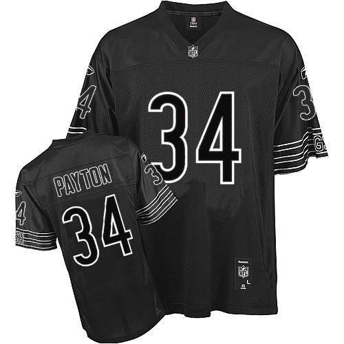 black chicago bears jersey for men 2016