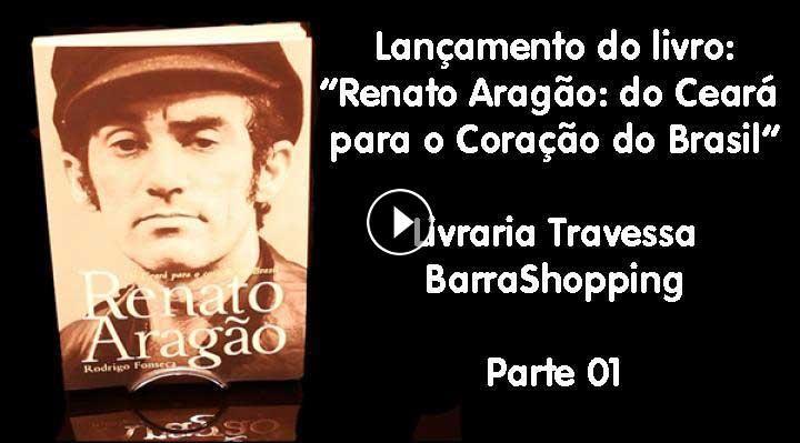 """No dia 4 de dezembro aconteceu na Livraria Travessa do Barra Shopping, o lançamento do livro biográfico """"Renato Aragão - do..."""