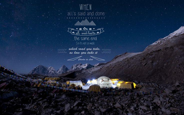 See.... feel.....experience... the road you choose ! #nepal #trekking #wanderlust #walkithyeti #adventure