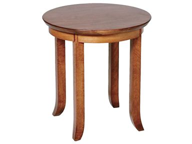 Shop for Ridgewood Envy Round End Table, RD1115, and other Living Room Tables at Penny Mustard in Greendale, Wisconsin. Wood: Rustic Maple, Finish: FA.