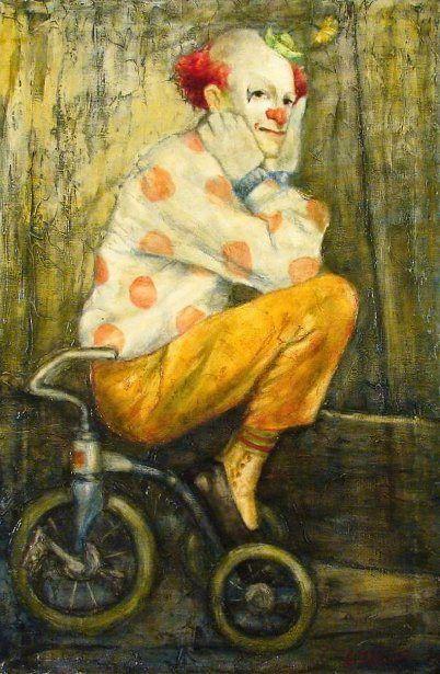 W. Cortland Butterfield (1904 – 1977) - Payaso En Trike