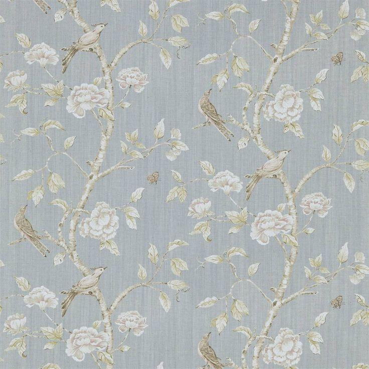 Woodville Fabric - La Seine (321432) - Zoffany Woodville Fabrics Collection