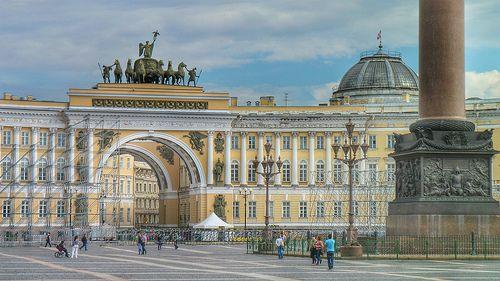 Piazza del Palazzo, Sant Petersburg   Flickr: Intercambio de fotos