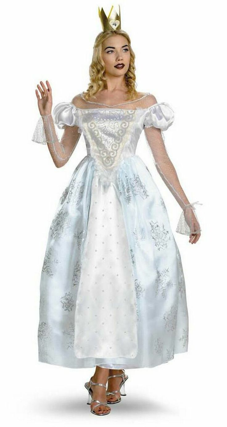 alice and wonderland costumes | ... Alice in Wonderland White Queen Costume $69.95 - Men Disney Costumes