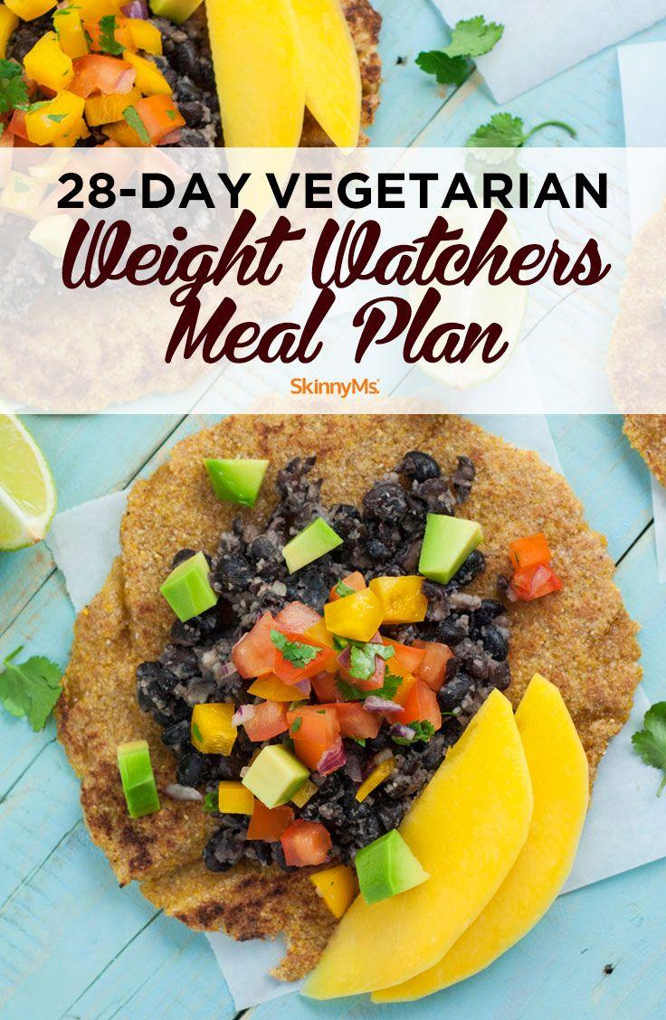 28-Day Vegetarian Weight Watchers Meal Plan