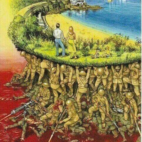 Puts things into perspective! Thank you men and women in service for keeping us safe | #happymemorialday #MemorialDay