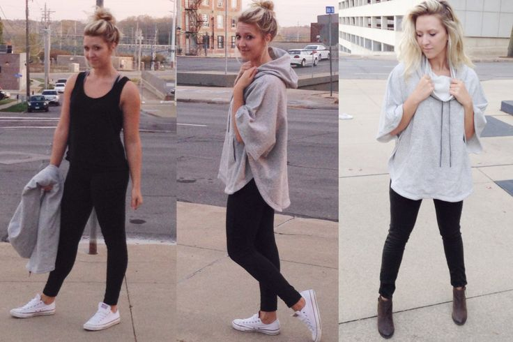 fall functional fashion #gymtostreet #outfits